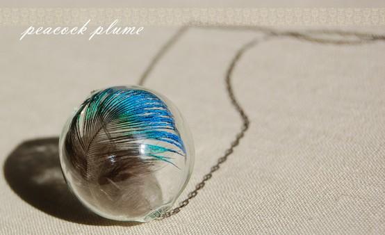 DIY – Peacock Plume Necklace