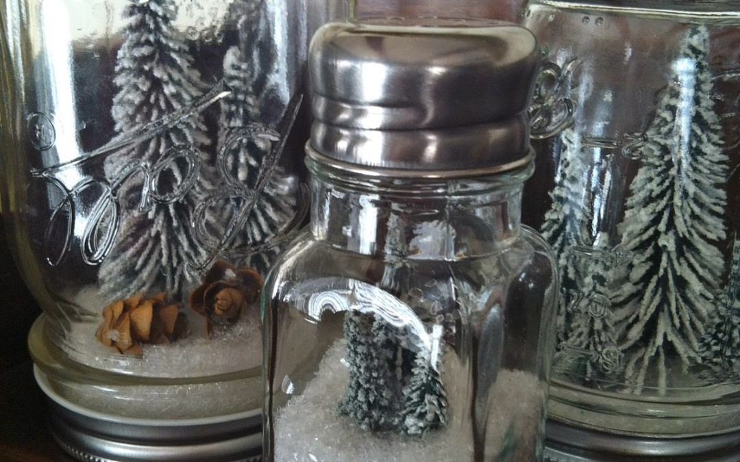 DIY – Anthropologie Mason Jar Snowglobes