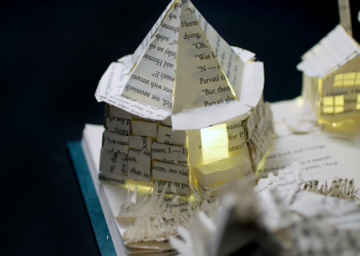 Harry Potter and the Prisoner of Azkaban Book Sculpture - Hagrid's Hut