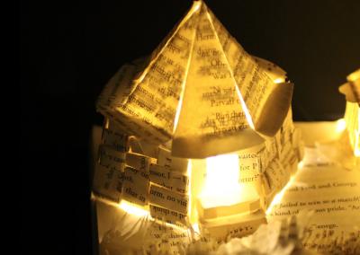 Harry Potter and the Prisoner of Azkaban Book Sculpture - Hagrid's Hut