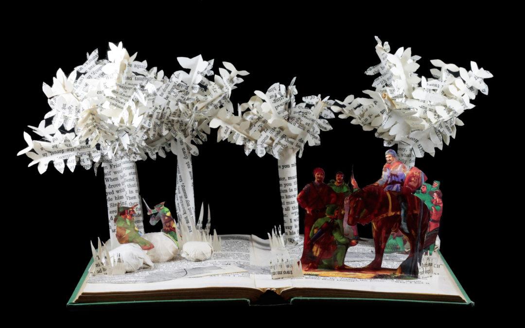 Book Sculpture: Robin Hood