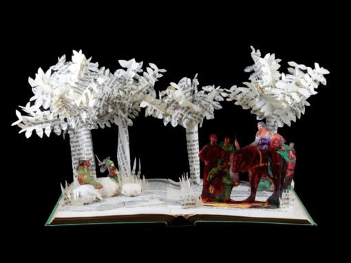 Book Sculpture: Robin Hood