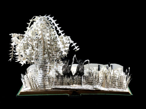 Book Sculpture: Tom Sawyer