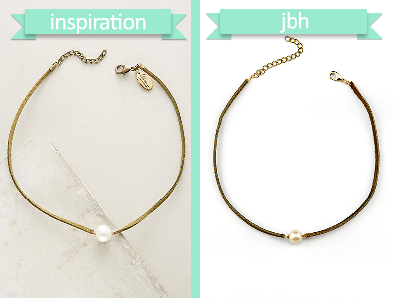 DIY Anthropologie-Inspired Pearl Choker - Choker Comparison - jamiebhannigan.com
