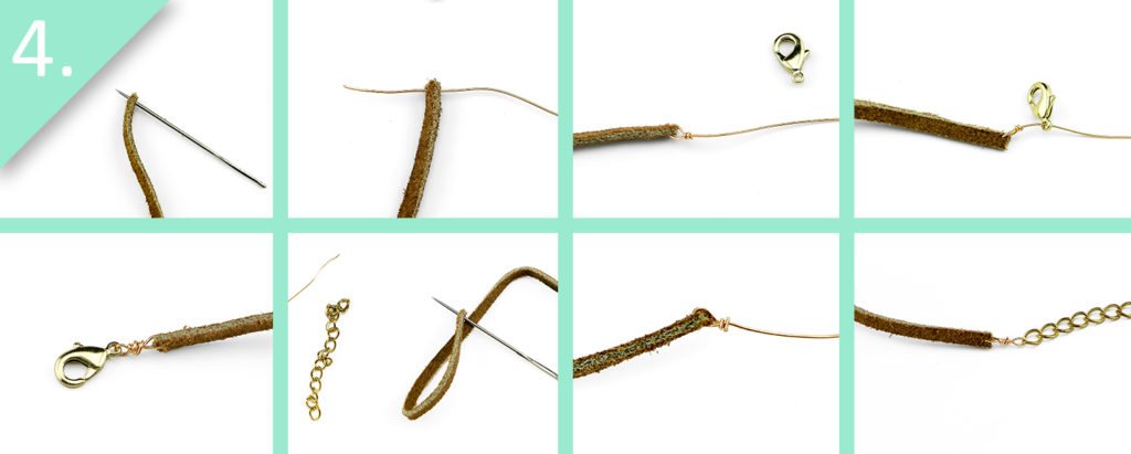 DIY Anthropologie-Inspired Pearl Choker - Step 4 - jamiebhannigan.com