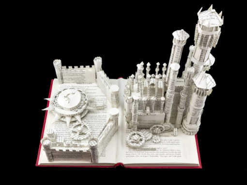 Book Sculpture: King's Landing (A Feast for Crows)