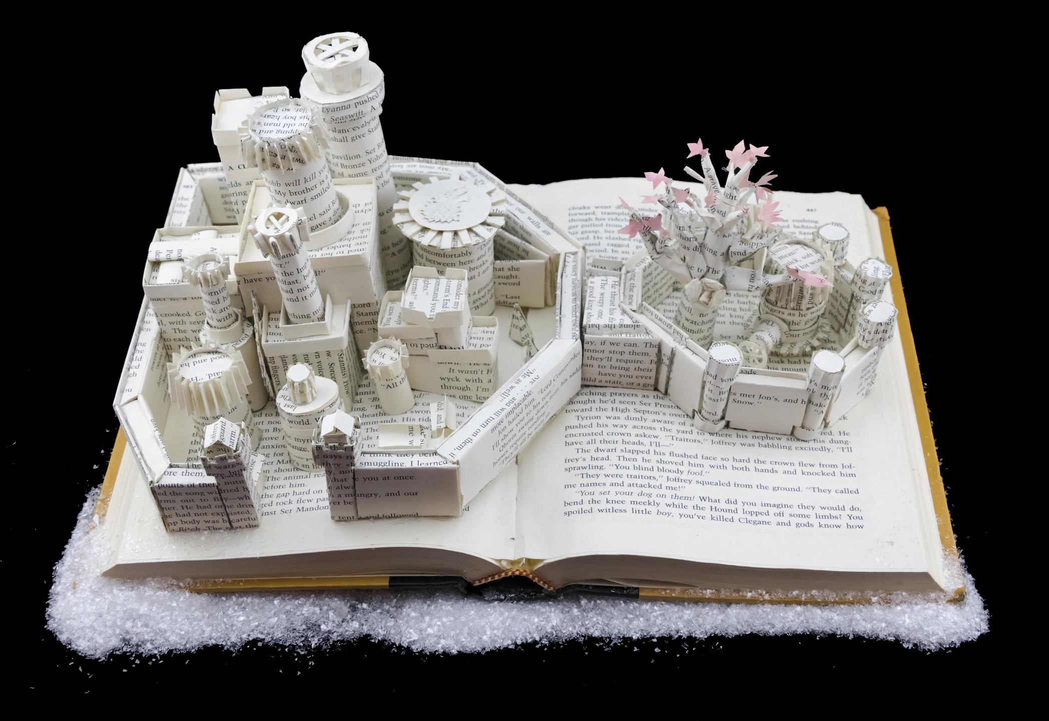 Harry Potter and the Prisoner of Azkaban Book Sculpture by Jamie B. Hannigan