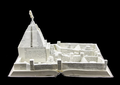Game of Thrones Meereen Book Sculpture - Front