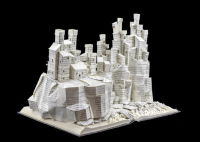 Game of Thrones Book Sculpture - Pyke and the Iron Islands - Angled Left | Jamie B. Hannigan