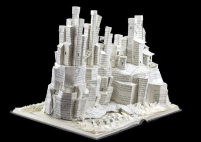 Game of Thrones Book Sculpture - Pyke and the Iron Islands - Angled Right | Jamie B. Hannigan