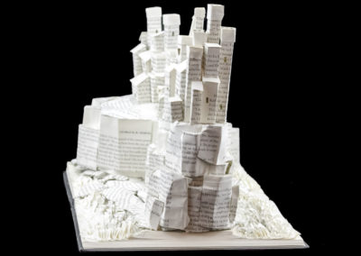 Game of Thrones Book Sculpture - Pyke and the Iron Islands - Right Side | Jamie B. Hannigan