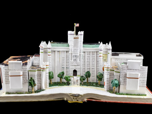 Book Sculpture: Scranton Preparatory School