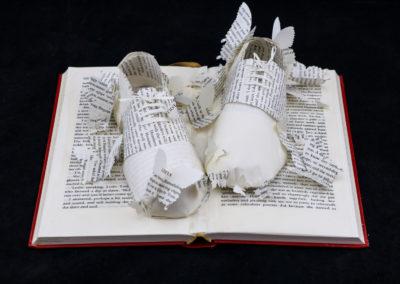 Above View 2 - Lolita - Custom Book Sculpture by Jamie B. Hannigan