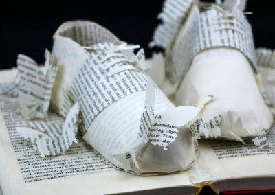 Detail View 1 - Lolita - Custom Book Sculpture by Jamie B. Hannigan