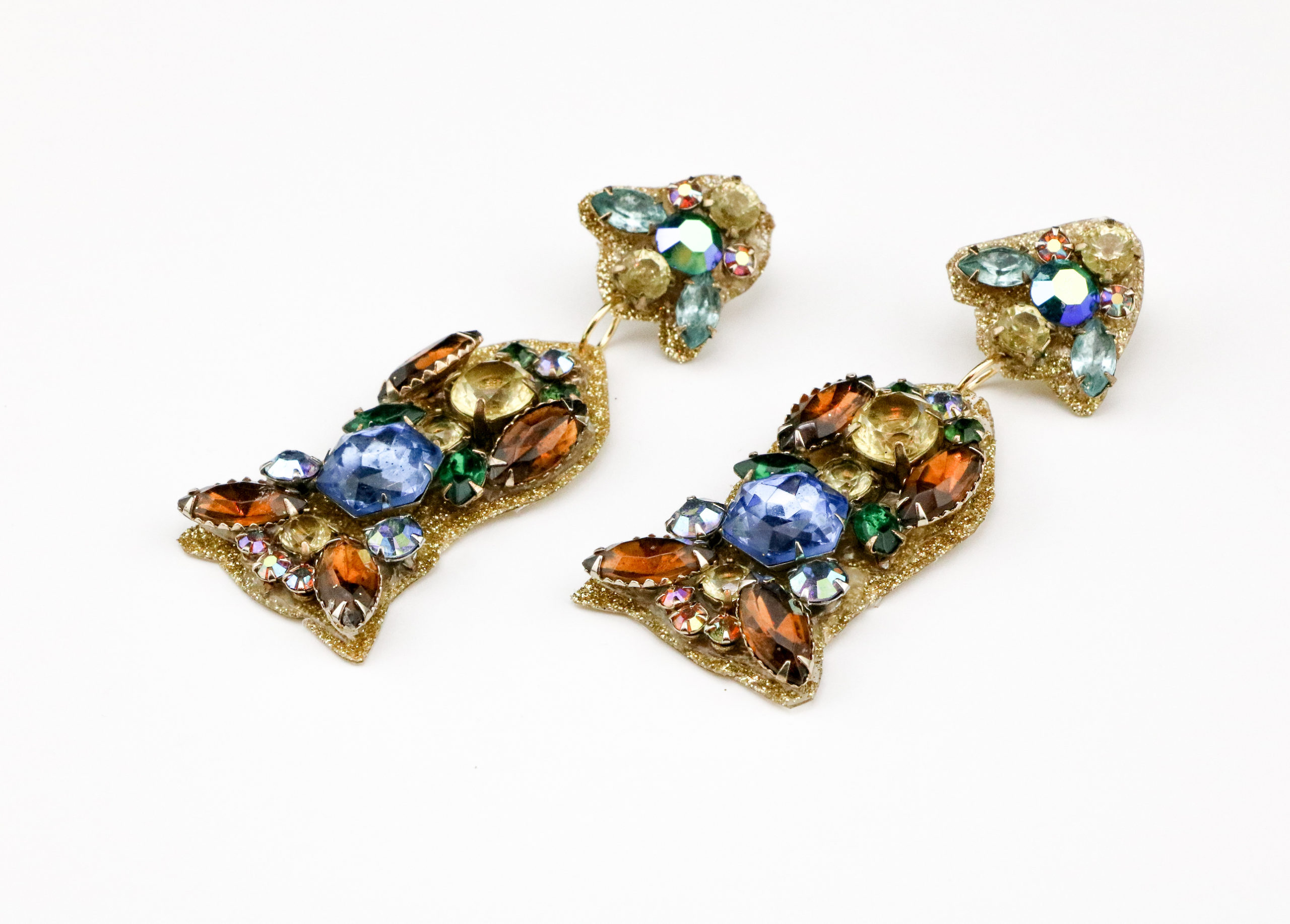 Jamie B. Hannigan - DIY J.Crew Inspired Sparkle Earrings