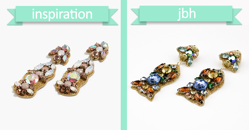 Jamie B. Hannigan - DIY J.Crew Inspired Sparkle Earrings - Inspiration