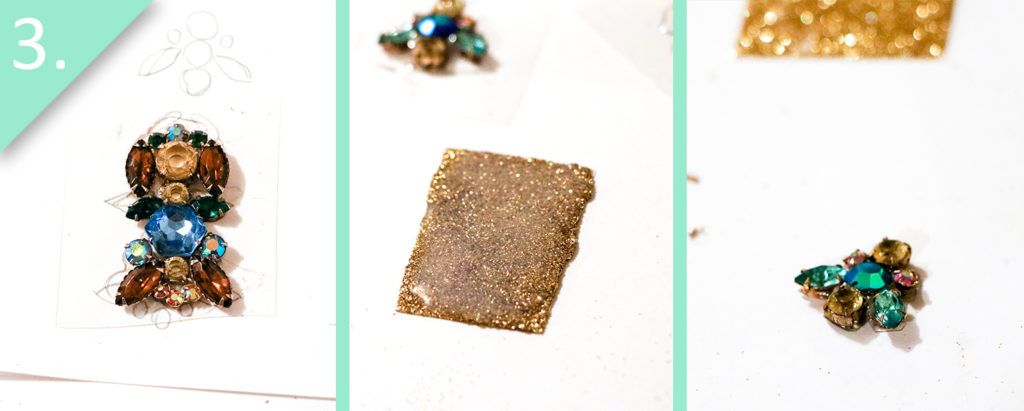 Jamie B. Hannigan - DIY J.Crew Inspired Sparkle Earrings - Step 3