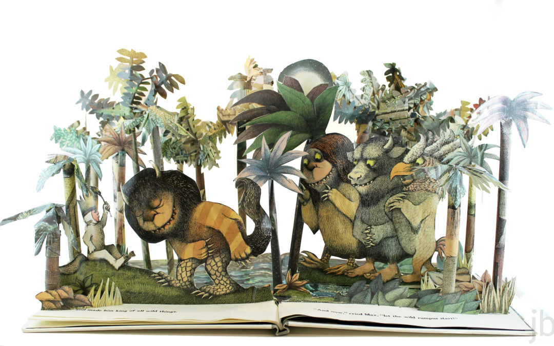 Book Sculpture: Where the Wild Things Are