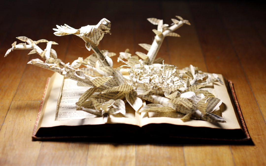 Book Sculpture: Pride and Prejudice