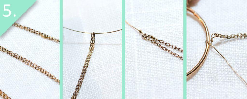 Step 5 - DIY Anthro-Inspired Fringed Hoops by jamie b. hannigan