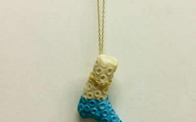 """DIY – Anthropologie Inspired """"Dipped Sessile Necklace"""""""