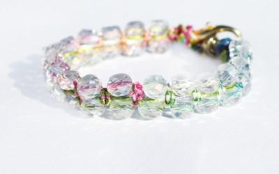 DIY Anthro-Inspired Summer Bracelet