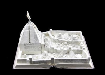 Game of Thrones Meereen Book Sculpture - Front 2