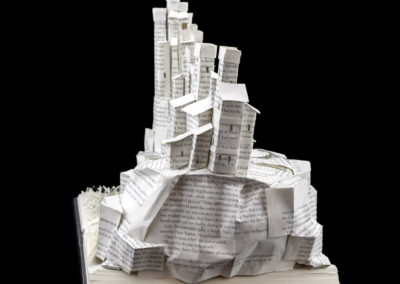 Game of Thrones Book Sculpture - Pyke and the Iron Islands - Left Side | Jamie B. Hannigan
