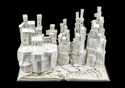 Game of Thrones Book Sculpture - Pyke and the Iron Islands - Main View | Jamie B. Hannigan