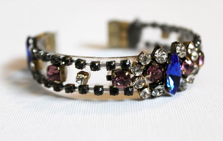 DIY J. Crew-Inspired Jeweled Bracelet