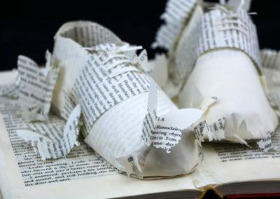Detail View 1 - Lolita - Custom Book Sculpture by Jamie B. Hannigan