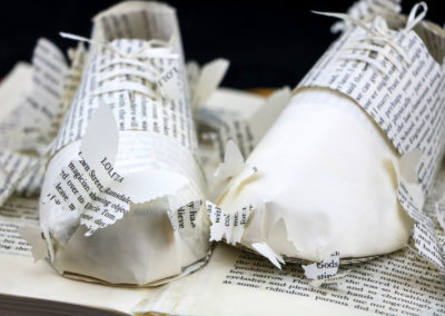 Detail View 2 - Lolita - Custom Book Sculpture by Jamie B. Hannigan