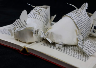 Detail View 4 - Lolita - Custom Book Sculpture by Jamie B. Hannigan
