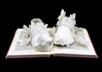 Main View - Lolita - Custom Book Sculpture by Jamie B. Hannigan