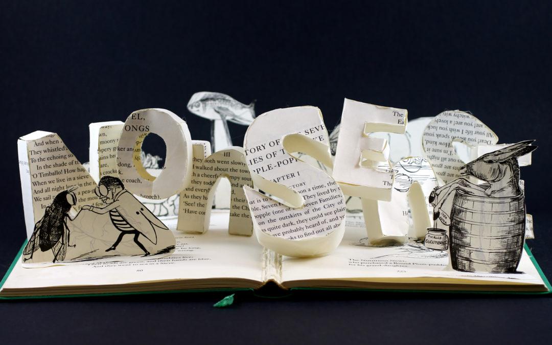 Book Sculpture: A Book of Nonsense