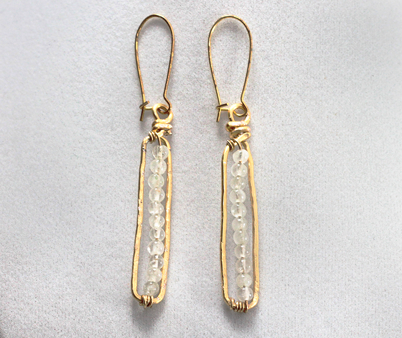 DIY Anthro-Inspired Matchstick Earrings